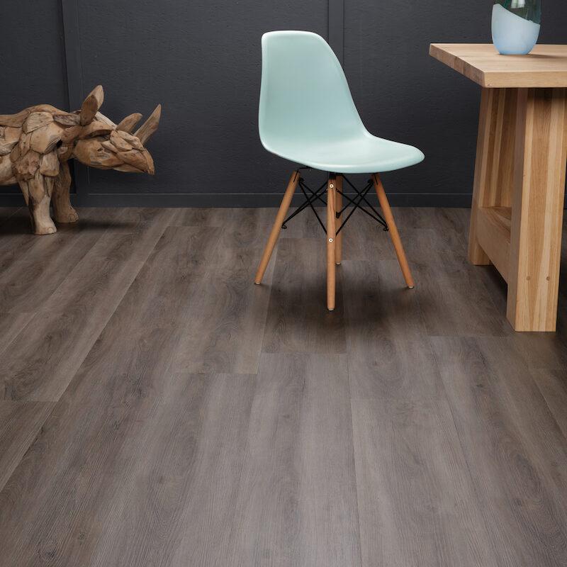 Gerookte Eiken Donker PVC-vloer (108)