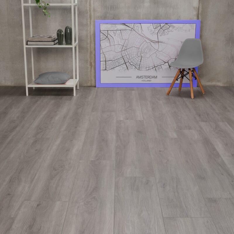 Klik-PVC Grijs Eiken (125)