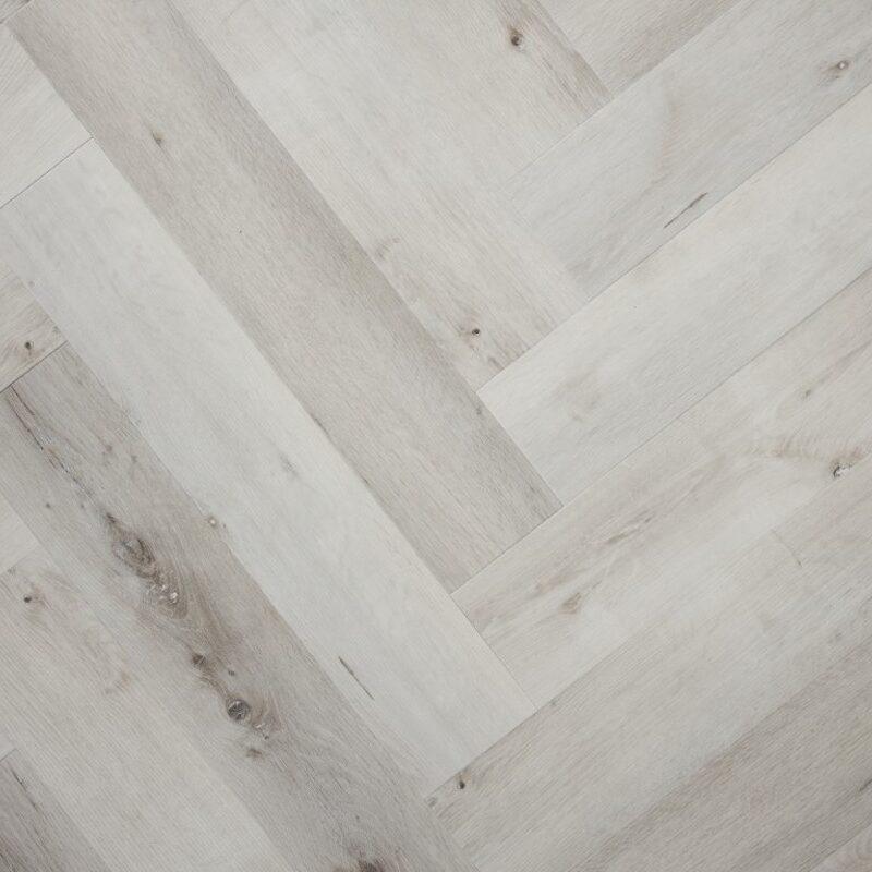 Wit Gerookt Eiken PVC-visgraatvloer (150)