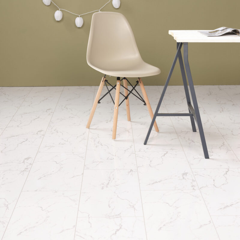 Falquon Carrara Marmor hoogglans