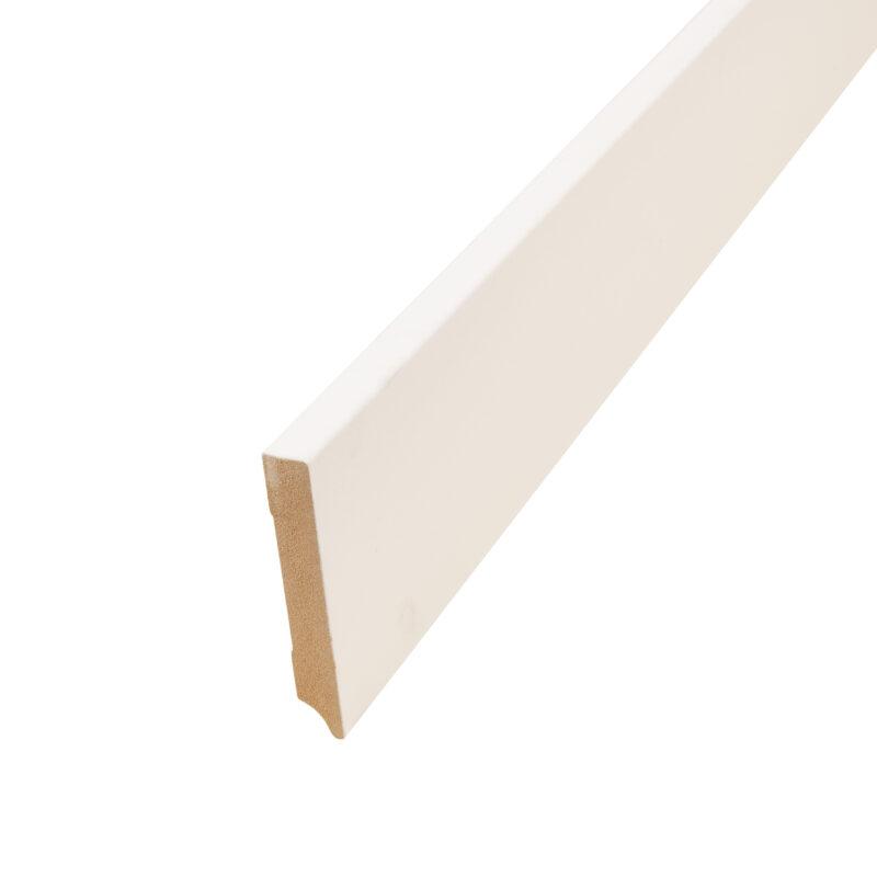 Hoge MDF-plint 12 cm