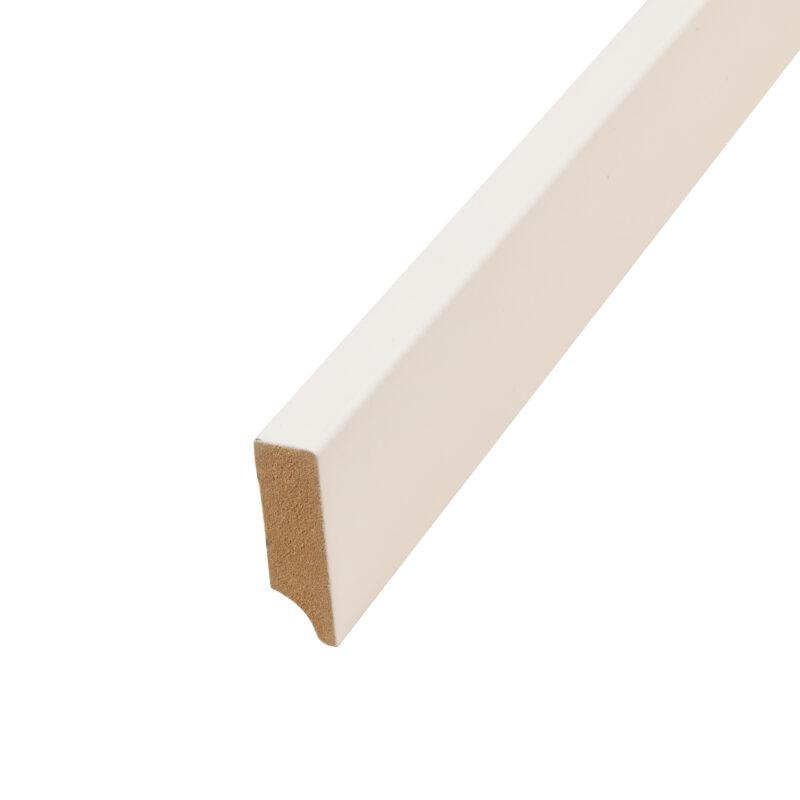 Hoge MDF-plint 6 cm
