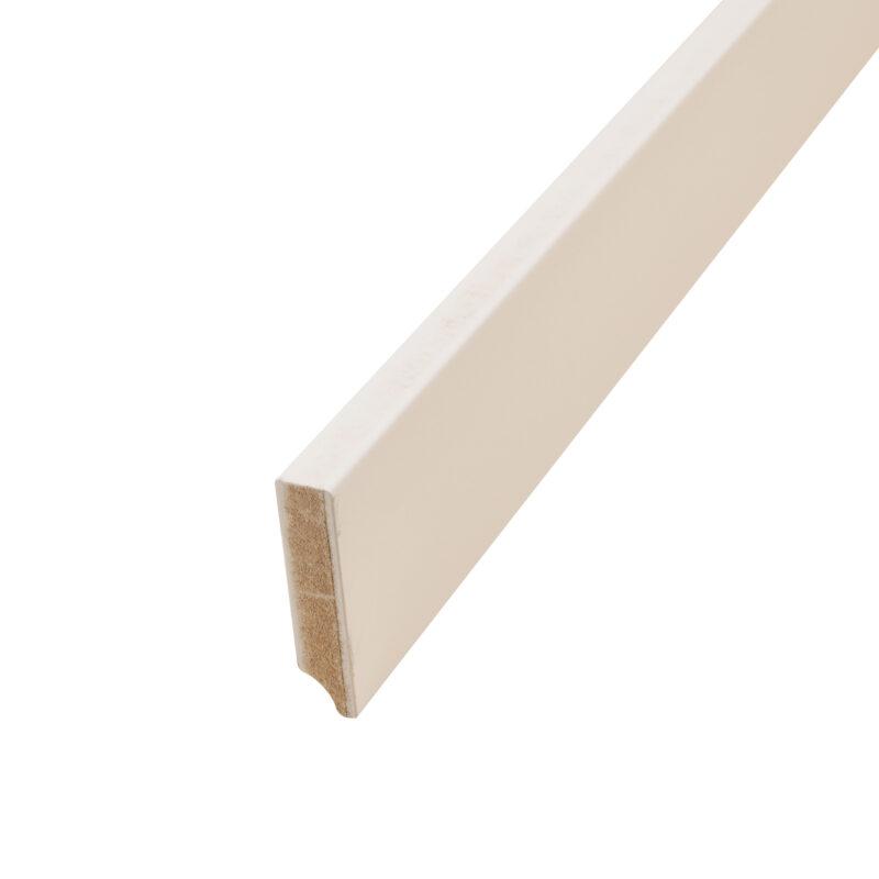 Hoge MDF-plint 8 cm