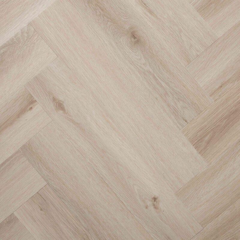 Beige Eiken PVC-visgraatvloer (143)